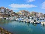 Marina at Punta Moral.