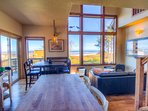 Enjoy the views of the Pacific from this lovely craftsman home.