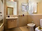 A wonderful luxury of an ensuite bathroom