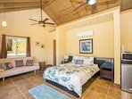 One of two identical Casita bedrooms
