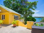 Head downstairs for access to the beach and private dock!