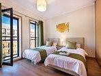 Comfortable Twin Bedroom at Village Marina