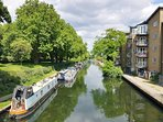 Enjoy some lovely walks through London along the canals