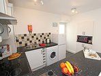 A fully equipt kitchen will great amenities