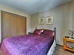 Four bedrooms are ready to deliver a sound night's sleep.