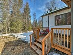 Take in the fresh Alaskan air and views of the towering pine trees.