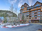 The Zephyr Mountain Lodge offers ski-in/ski-out access!