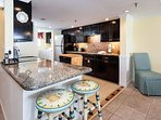 Gorgeously customized kitchen in SD 203 is a chef's dream!
