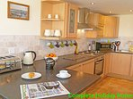 Fully fitted kitchen with all mod cons