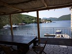 Seafront holiday villa for rent, Peljesac Peninsula