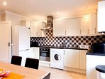 fully equipped kitchen - perfect for long stays