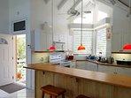 Family-sized kitchen