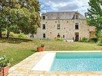 7 bedroom Villa in Concourson-sur-Layon, Pays de la Loire, France : ref 5547012