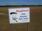 Welcome skydivers ;-)