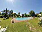 2 bedroom Apartment in Cegliolo, Tuscany, Italy : ref 5548373