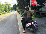 Rent a scooter and start exploring with QUEBEC ORIGINAL TOURS