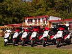 Scooter rental on-site by QUEBEC ORIGINAL TOURS