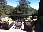 Top Deck in Back of Home with Views