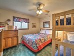 Perfect for friends or siblings, this room sleeps 4.