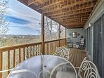 You'll feel right at home as you soak in the Ozark views.