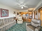 Enjoy Branson in this 2-bedroom, 2-bathroom vacation rental condo for 6.