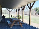 Grill & Picnic Table