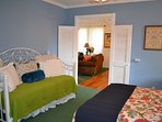 EACH BEDROOM IS AN EN-SUITE WITH 1 QUEEN AND 1 TWIN BED AND ATTACHED BATHROOM
