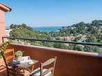 terrace with sea views in the first floor-SA PUNTA COSTA BRAVA