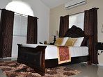 Beautiful air conditioned bedrooms