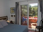 double room with acces to terrace with montain views in the first floor-SA PUNTA COSTA BRAVA