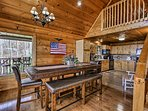 This home is ideal for a family gathering or another special event.