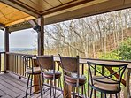 Sip your nightcap beverage at the deck's bar.