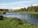 Junction pool river Tweed Salmon fishing