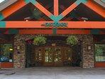 Gateway Lodge Entrance.