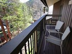 Private deck with Keystone views!