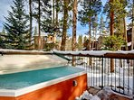 Large Hot Tub at Starfire Townhomes