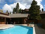 Wild Irishman pool and clubhouse