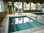 Indoor Hot Tub at Montezuma