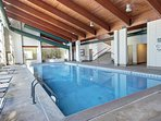 The Pines pool house in Keystone, CO