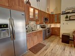 Modern fully equipped kitchen!