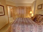 Cozy up in the bedroom and relax after a long day of activities in Keystone.