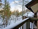 Snowy Keystone views!