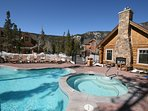 Pool and Hot tub at Settlers Creek Townhomes