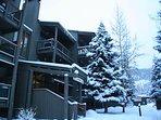 Winter Snow at Lodgepole Condos