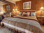 Master bedroom at Wild Irishman