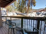 Private deck in West Keystone