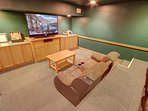Enjoy your favorite movies at the Springs Movie room.