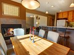 Formal dining space at Snake River
