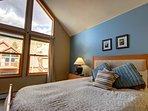 Beautiful Master Bedroom at Snake River