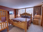 bedroom has natural lighting and great for mornings with the kids who love to get up early and jump into bed for...